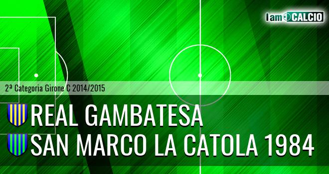 Real Gambatesa - San Marco la Catola 1984