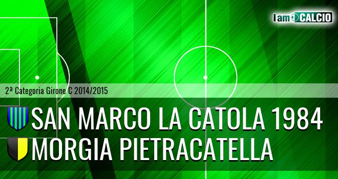 San Marco la Catola 1984 - Morgia Pietracatella