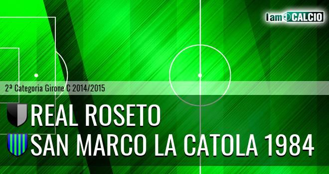 Real Roseto - San Marco la Catola 1984