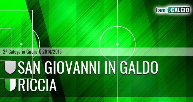 San Giovanni in Galdo - Riccia