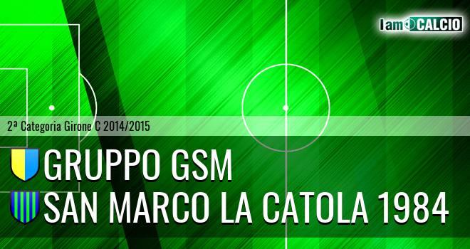Gruppo GSM - San Marco la Catola 1984