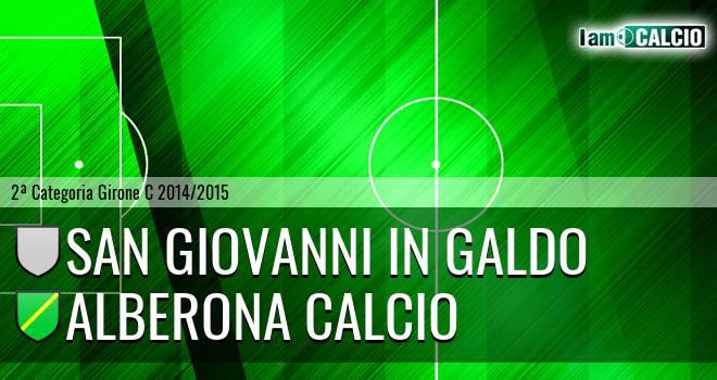 San Giovanni in Galdo - Alberona Calcio