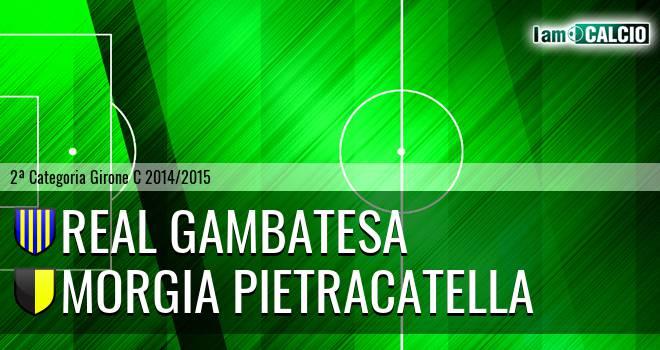 Real Gambatesa - Morgia Pietracatella