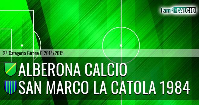 Alberona Calcio - San Marco la Catola 1984