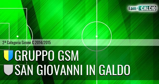 Gruppo GSM - San Giovanni in Galdo