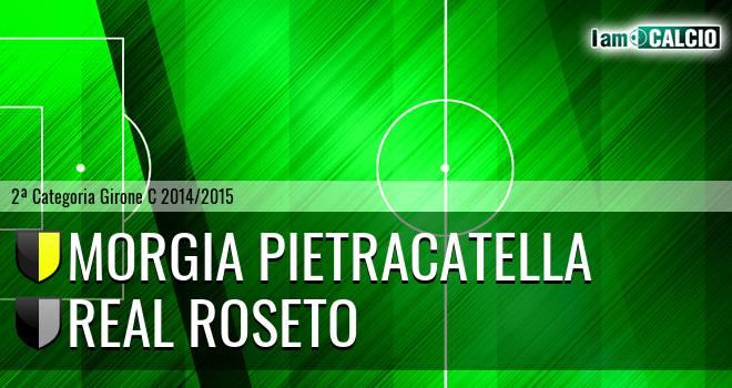 Morgia Pietracatella - Real Roseto