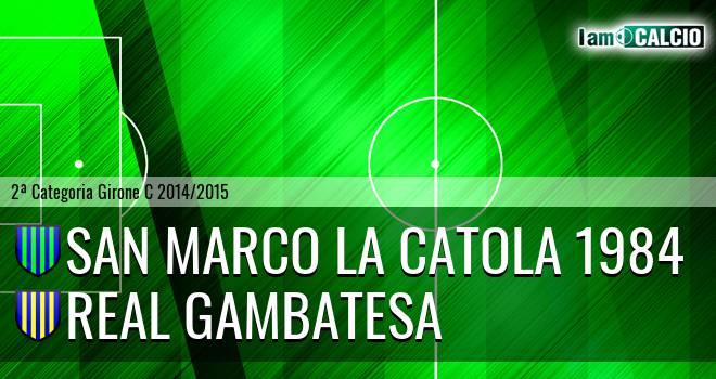 San Marco la Catola 1984 - Real Gambatesa