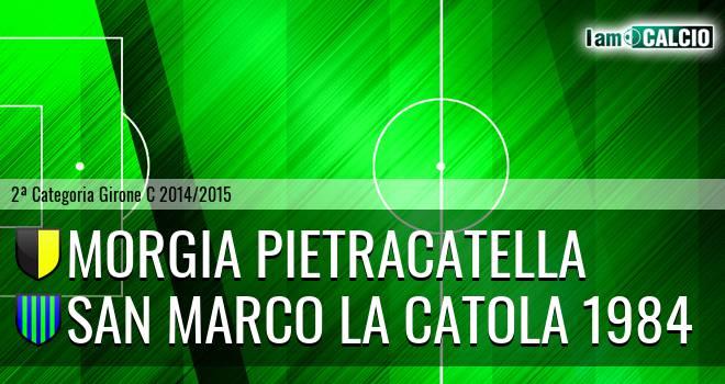 Morgia Pietracatella - San Marco la Catola 1984