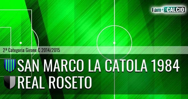 San Marco la Catola 1984 - Real Roseto