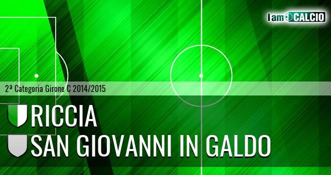 Riccia - San Giovanni in Galdo
