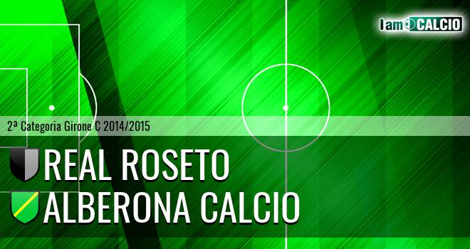 Real Roseto - Alberona Calcio