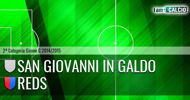 San Giovanni in Galdo - Reds
