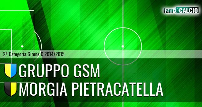 Gruppo GSM - Morgia Pietracatella