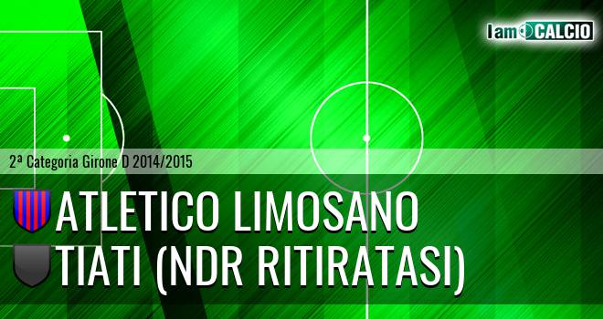 Atletico Limosano - Tiati (NdR RITIRATASI)