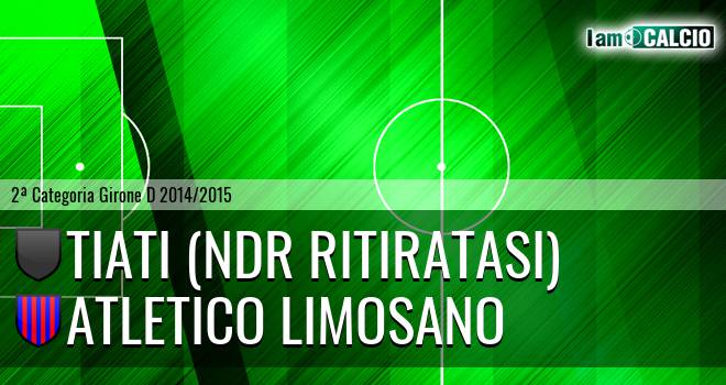 Tiati (NdR RITIRATASI) - Atletico Limosano