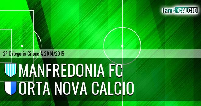Manfredonia FC - Orta Nova Calcio
