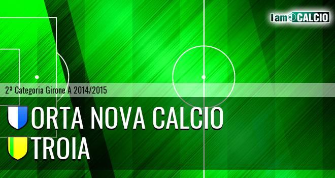 Orta Nova Calcio - Troia