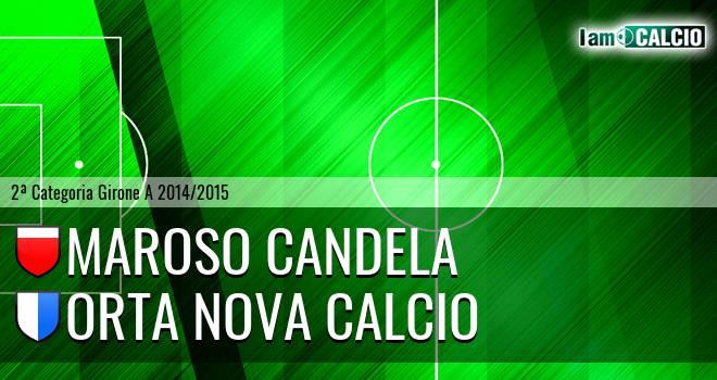 Maroso Candela - Orta Nova Calcio