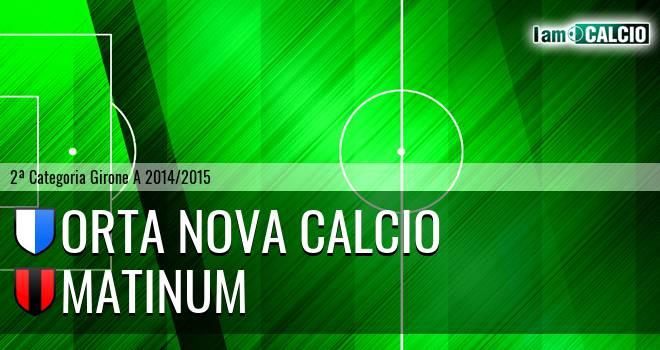 Orta Nova Calcio - Matinum