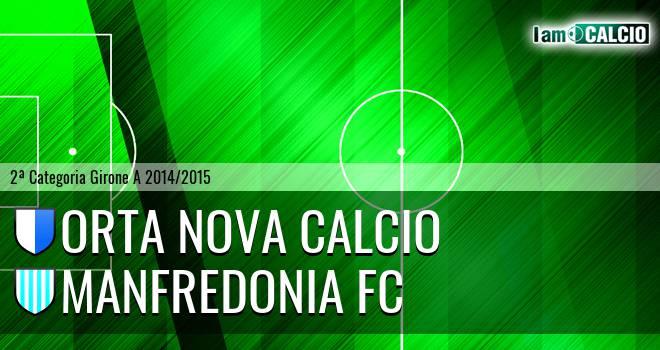 Orta Nova Calcio - Manfredonia FC