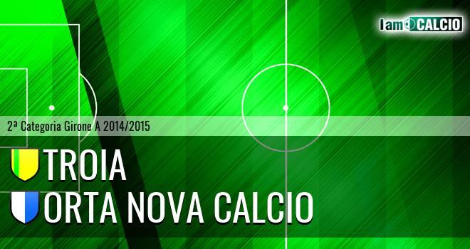Troia - Orta Nova Calcio