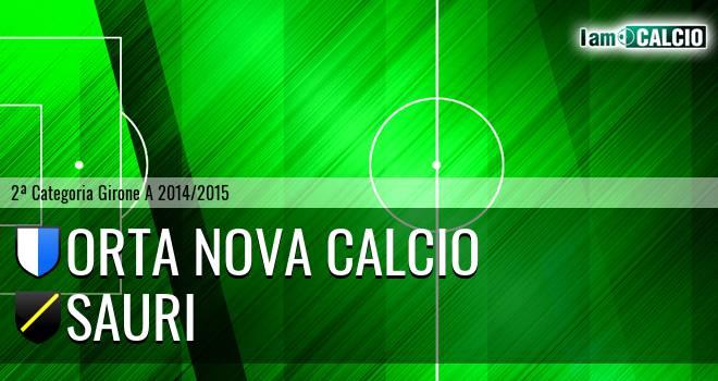 Orta Nova Calcio - Sauri