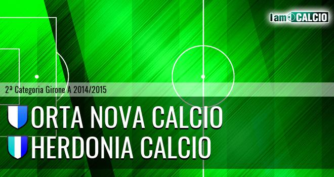 Orta Nova Calcio - Herdonia Calcio