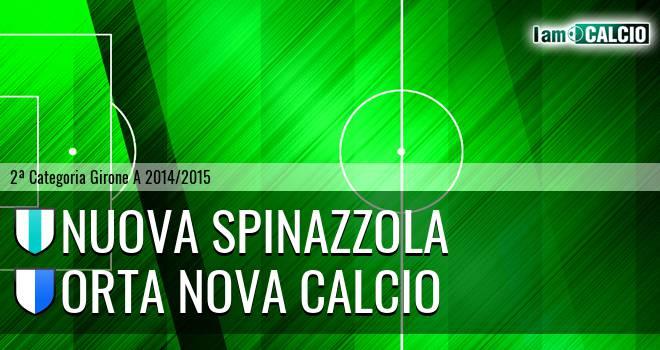 Nuova Spinazzola - Orta Nova Calcio