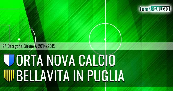 Orta Nova Calcio - Bellavita in Puglia