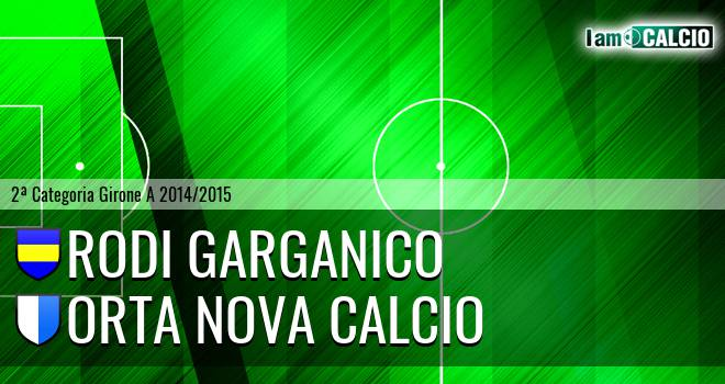 Rodi Garganico - Orta Nova Calcio