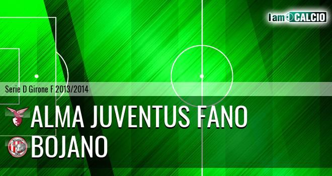 Alma Juventus Fano - Bojano