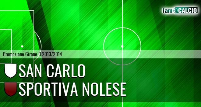 San Carlo - Sportiva Nolese