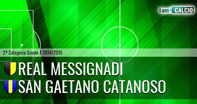 Real Messignadi - San Gaetano Catanoso