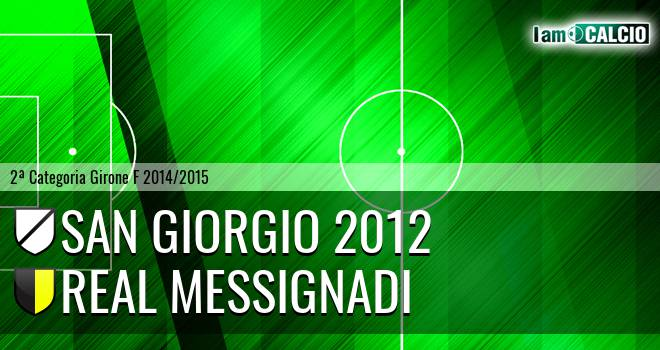 San Giorgio 2012 - Real Messignadi