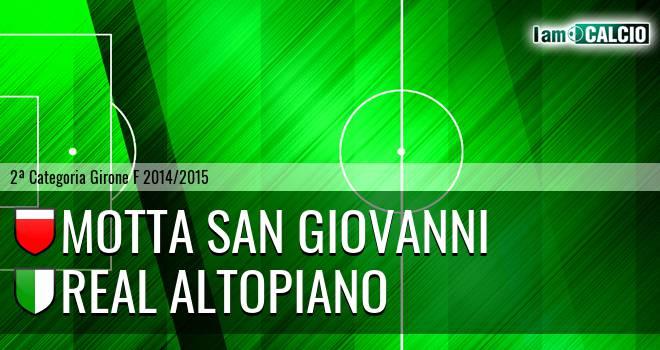 Motta San Giovanni - Real Altopiano