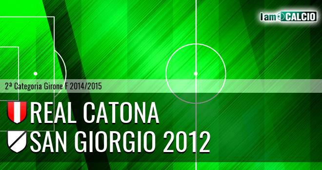 Real Catona - San Giorgio 2012