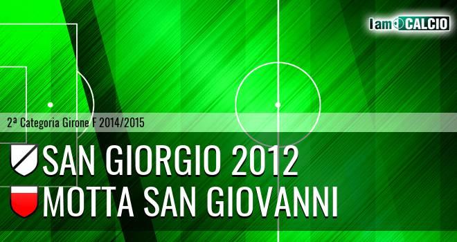 San Giorgio 2012 - Motta San Giovanni