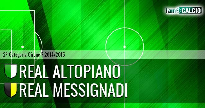 Real Altopiano - Real Messignadi