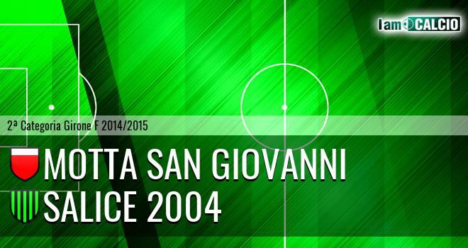 Motta San Giovanni - Salice 2004