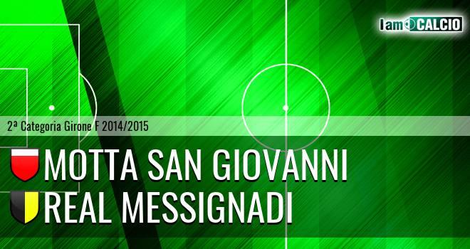 Motta San Giovanni - Real Messignadi