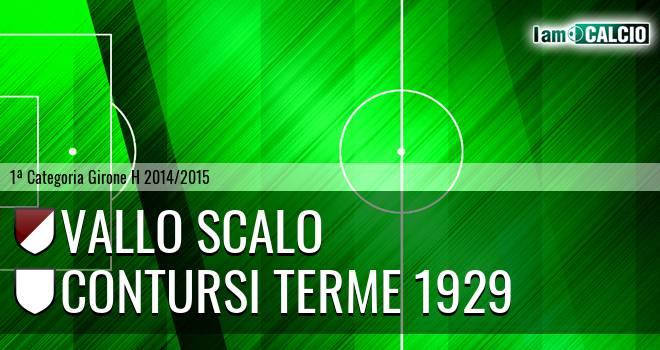 Vallo Scalo - Contursi Terme 1929
