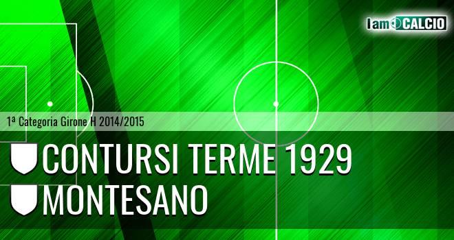 Contursi Terme 1929 - Montesano