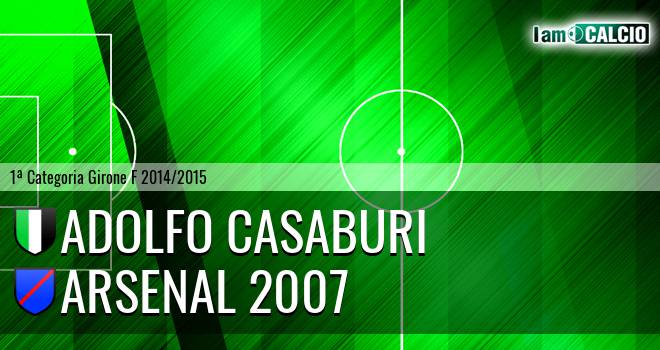 Adolfo Casaburi - Arsenal 2007
