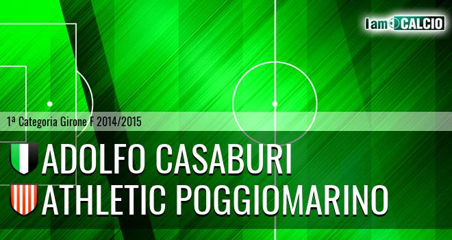 Adolfo Casaburi - Athletic Poggiomarino