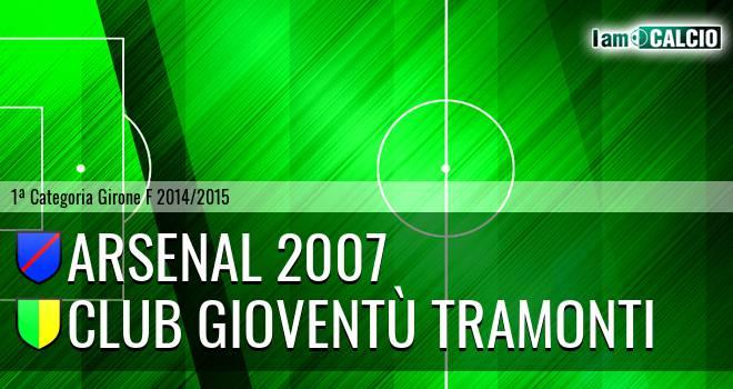 Arsenal 2007 - Club Gioventù Tramonti