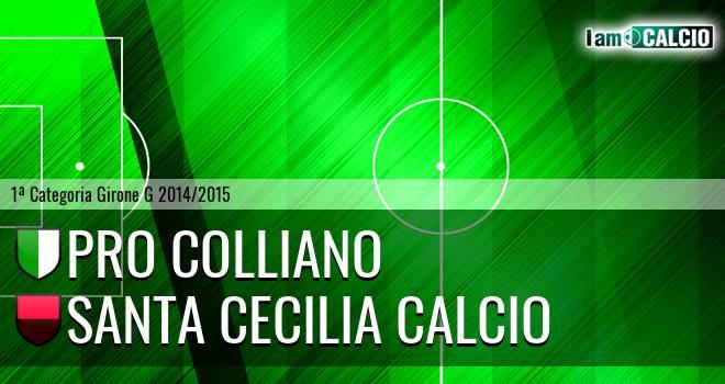 Pro Colliano - Santa Cecilia Calcio