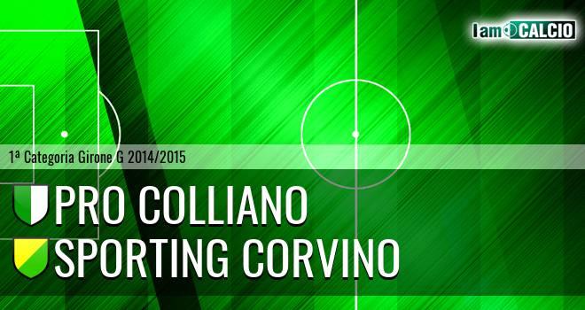Pro Colliano - Sporting Corvino