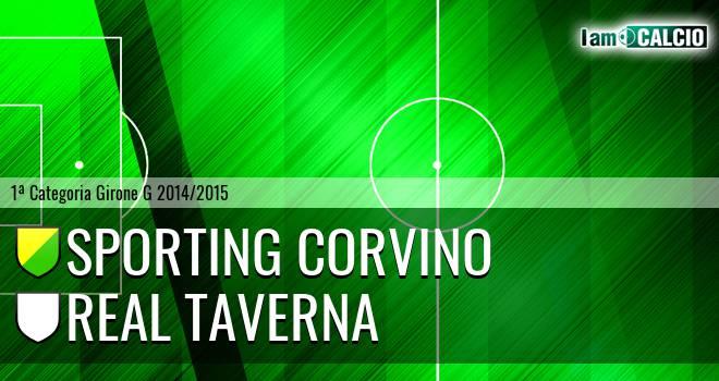 Sporting Corvino - Real Taverna