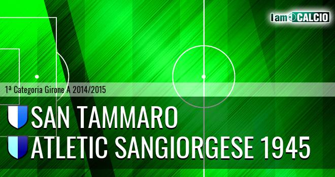 San Tammaro - Atletic Sangiorgese 1945