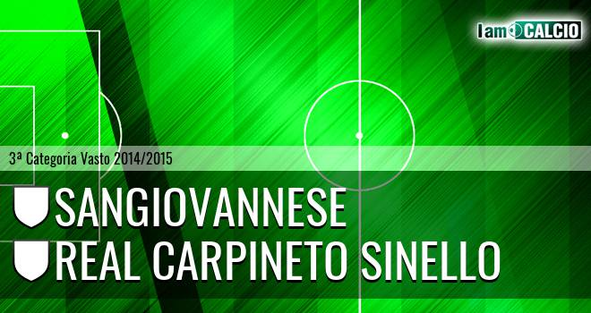 Sangiovannese - Real Carpineto Sinello